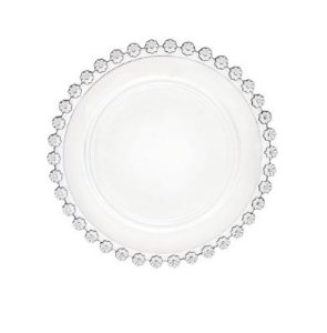 Jogo 4 Pratos Cristal Sobremesa Daisy  20 cm 28794