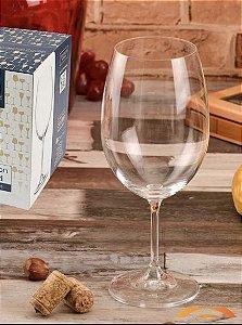 Taça para Vinho de Cristal Ecológico Bohemia 580ml 5169