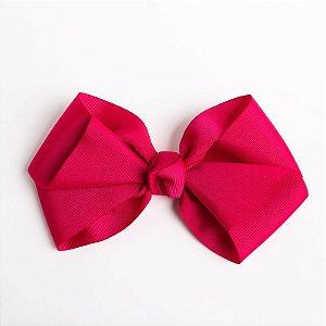 Laço Hortência Pink Escuro Fita De Gorgurão