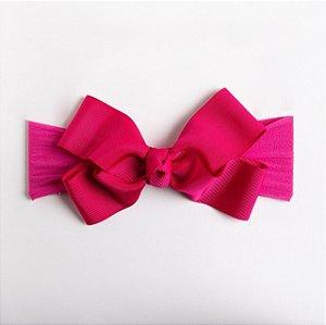 Faixa Pitanga Pink De Meia De Fita De Gorgurão No Meio.
