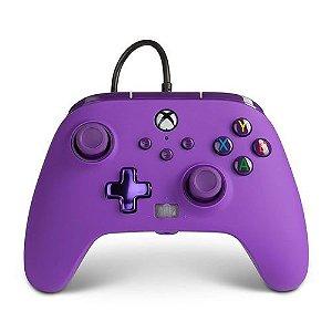 Controle Com Fio Xbox Series S/X Royal Purple - PowerA