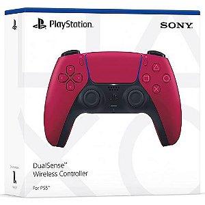 Controle Sem Fio Dualsense PS5 Cosmic Red - Garantia Oficial Sony