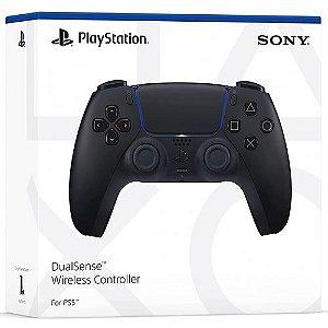 Controle Sem Fio Dualsense PS5 Midnight Black - Garantia Oficial Sony