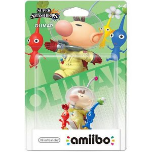 Amiibo Olimar Super Smash Bros Series - Nintendo