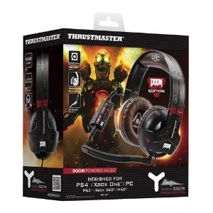 Headset com Fio Y-300CPX Doom edition PS4 / Xbox One / PC  - Thrustmaster
