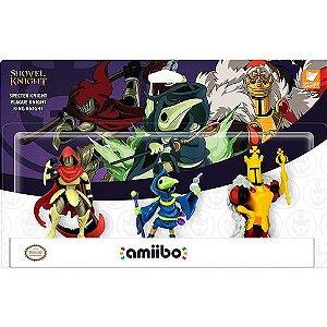Amiibo Yacht Club Games Shovel Knight Treasure Trove 3 Pack - Nintendo