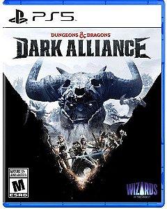 Game  Dungeons & Dragons Dark Alliance - PS5