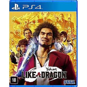 Game Yakuza Linke a Dragon - PS4