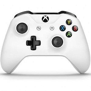 Controle Sem Fio Xbox One Newest Branco - Microsoft