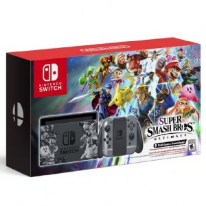 Console Nintendo Switch 32GB Super Smash Bros Ultimate Bundle - Nintendo