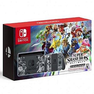 Console Nintendo Switch 32GB Super Smash Bros Ultimate Bundle - Nintendo