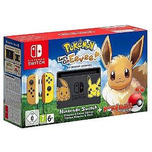 Console Nintendo Switch 32GB Pokemon Let's Go Eevee Bundle - Nintendo