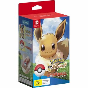 Game Pokémon Let's Go Eevee Bundle ! - Switch