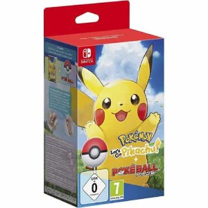 Game Pokémon Let's go Pikachu Bundle - Switch