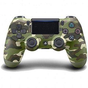 Controle DualShock 4 Sem fio para PS4 - Verde Camuflado