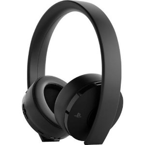 New Gold Wilress Headset 7.1 Virtual Surround Preto - Sony
