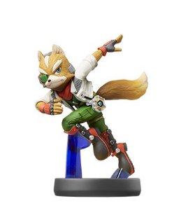Amiibo Fox Super Smash Bros Series - Nintendo [usado]