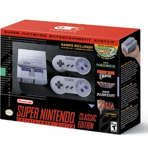 Console Super Nintendo Classic Edition - Nintendo