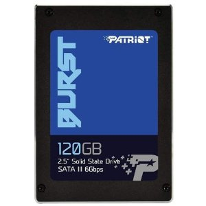 SSD 120GB 2.5 Sata III 6Gbps Patriot Burst - Patriot