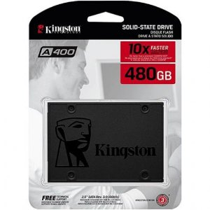 SSD 480GB 2.5 Sata III 6Gbps  - Kingston