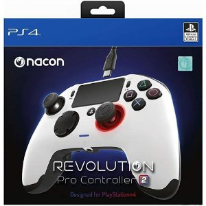 Controle Com Fio Nacon Revolution Pro 2 Branco - Nacon