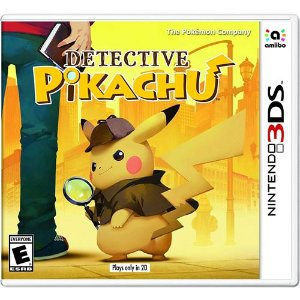 Game Detective Pikachu - 3DS