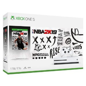 Console Xbox One S 1TB NBA 2K 19 Bundle - Microsoft