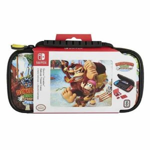 Nintendo Switch Deluxe Travel Case Donkey Kong Country Tropical Freeze - Switch