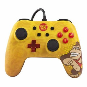 Controle com Fio PowerA Donkey Kong Country - Switch