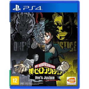 Game My Hero Ones Justice - PS4