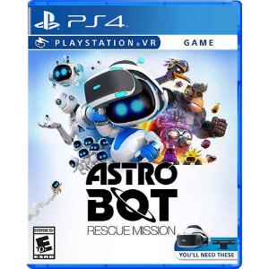 Game Astro Bot Rescue Mission - PS4