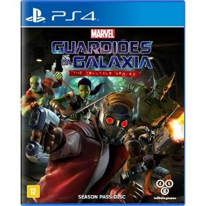 Game Guardiões da Galaxia The Telltale Series - PS4