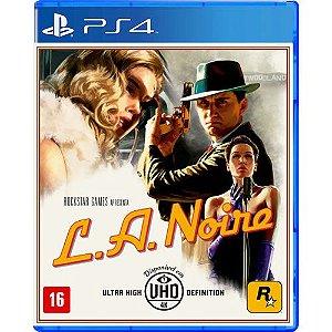 Game L.A Noire - PS4