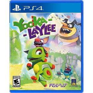 Game Yooka Laylee - PS4