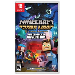 Game Minecraft Story Mode The Complete Adventure - Switch