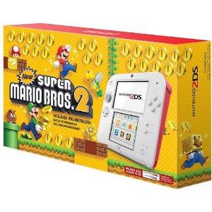 Console Nintendo 2DS New Super Mario Bros 2 Bundle - Nintendo