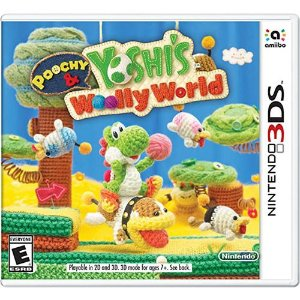 Game Poochy & Yoshi's Woolly World - 3DS