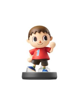 Amiibo Villager Super Smash Bros Series - Nintendo