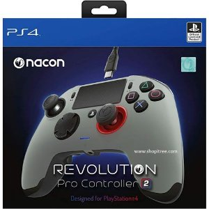 Controle Com Fio Nacon Revolution Pro 2 Prata - Nacon