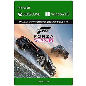 Game Forza Horizon 3 - Xbox One / Windows 10