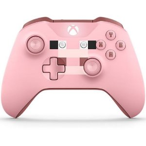 Controle Sem Fio Xbox One Minecraft Pig - Microsoft