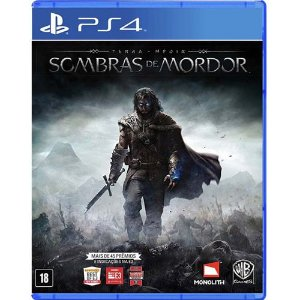 Game Terra Média Sombras de Mordor - PS4