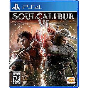 Game Soul Calibur VI - PS4