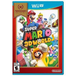 Game Super Mario 3D World - Wiiu