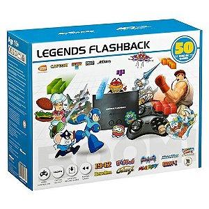 Console Legends Flashback 50 jogos - Atgames