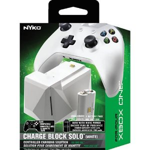 Charge Block Solo White Xbox One - Nyko