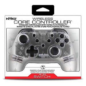 Controle Sem Fio Transparente Nintendo Switch - Nyko