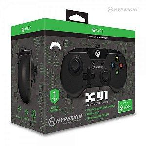 Controle Com Fio Hyperkin X91 Preto - Xbox One
