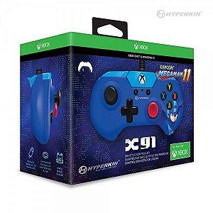 Controle Com Fio Hyperkin X91 Mega Man 11 Limited Edition - Xbox One