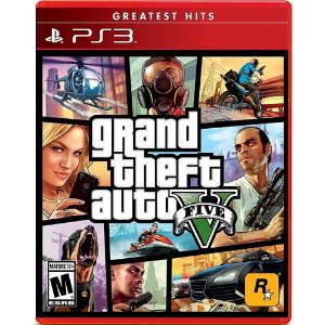Game Grand Thef Auto V - PS3